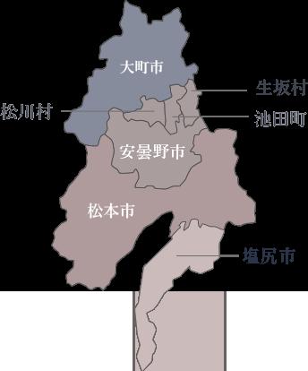 対象区域地図